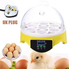 Digital 7 Egg Incubator Temperature Control Automatic Turning Chicken Hatcher