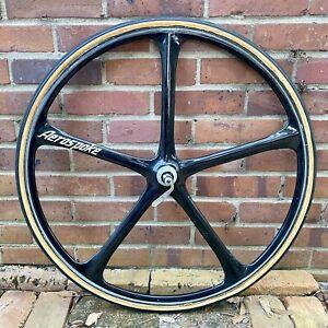Vintage Aerospoke 700c Tubular Front Wheel Track Bike Time Trial
