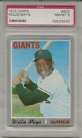 1970 Topps #600 WILLIE MAYS, PSA 8 NM-MT, HOF, S.F. GIANTS,  CENTERED, L@@K !