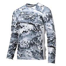 Huk Men's Pursuit Camo Vented Hydro Ice Large Long Sleeve Shirt