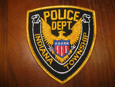INDIANA TWP PENNSYLVANIA POLICE PATCH  (STOCK EAGLE)