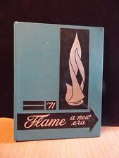 1971 Flame Frazier High School Perryopolis Pa.  Yearbook