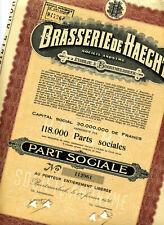 BRASSERIE de HAECHT (1936)