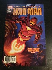 """Iron Man#73 Incredible Condition 9.2(2003)""""Best Defence"""" Jusko Cover!!"""