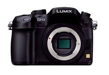 Panasonic Miralles Single-Lens Camera Lumix Gh3 Body 16050000 Pixel Black