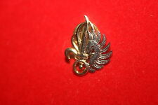 MINI FRENCH FOREIGN LEGION 2ND REP PARACHUTIST BERET BADGE LAPEL / TIE PIN