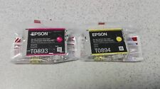 Original Epson T0893 T0894 Stylus S20, SX 100, 200, 205, 400, 405 kein T0896