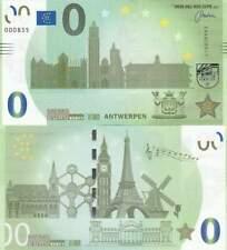 Biljet billet zero 0 Euro Memo - Antwerpen (056)