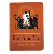 plato's República Pasaporte - Griego Antiguo Cuaderno De Bolsillo