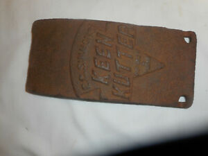 PRIMITIVE KEEN KUTTER  RUSTIC GUARD FOR SHARPENING STONE