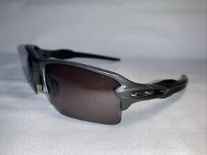 Oakley Flak 2.0 OO9188-60 Matte Black Frame Rose Prism Polarized Lens Sz 59[]12
