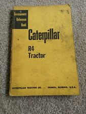Caterpillar R4 Tractor Servicemen'S Reference Book Form 7535A