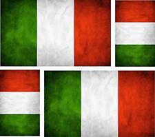 4x Aufkleber Auto Sticker tuning motorrad uk Fahne Flagge italien italia