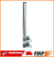 Geländerhalterung SAT Halterung Balkon Halter Lange 100cm Ø 48mm mit 2 Schellen