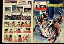 TINTIN  1955 n°   337    BE   CT