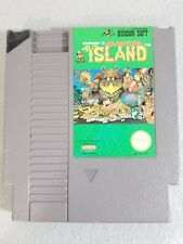 Adventure Island (Nintendo Entertainment System, NES) Cartridge, Tested Works