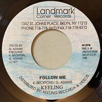 Keeling Beckford - Follow Me 45 Landmark 1998 Digi Roots Reggae VG+ mp3