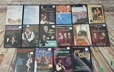 16 Dvd Lot Opera Musical Classical Symphony Handel Debussy Kubelik Beethoven