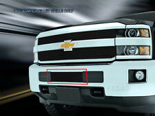 2015 2016 Chevy Silverado 2500/3500 HD Black Billet Grille Bumper Insert Fedar