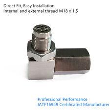 90° Catalytic Converter O2 Sensor Socket W/ CEL Eliminator Check Engine Light