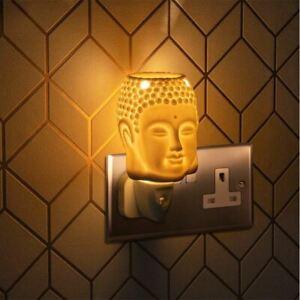 Desire Plug-In Buddha Design Night Light Wax Melt Oil Burner Electric Aroma