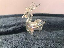 New ListingChristmas ornament Silvestri blown glass Reindeer Nib Ch3994