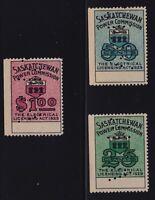 Canada VD #SE9-11 (1929) 25c-$1 Saskatchewan Power Commission SPECIMEN Revenues