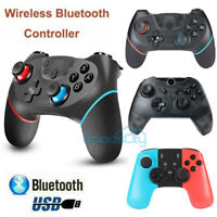 Dual Shock Wireless Pro Controller Gamepad Joypad Remote For Nintendo Switch