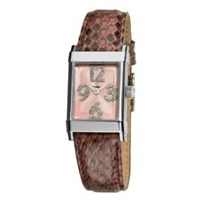 Eterna 1935 Women's 8790.41.84.1157 Pink Diamond Dial Leather Watch