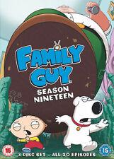 Family Guy Season 19 (DVD) Seth MacFarlane,Alex Borstein,Seth Green