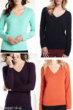 Marks and Spencer Women's Acrylic Long Sleeve Jumpers & Cardigans