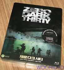 ZERO DARK THIRTY / PLAIN ARCHIVE / STEEL BOOK QUARTER SLIP BLU-RAY LIMITED ED