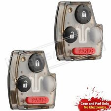 2 Replacement For 2007 2008 Honda Fit Key Fob Gut Shell Case