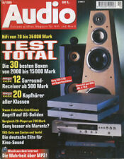 Audio 10/99 Canton S 10,Teufel Theater 7, AKG Hearo 777, JBL Ti 10 K,Linn Klimax