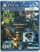 Playstation 4 Playstation VR Demo Disc 3* FACTORY SEALED* FREE US SHIPPING*