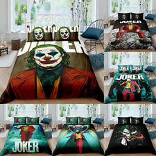 Joker Bedding Set Joaquin Phoenix 3PCS Duvet Cover&Pillowcases Comforter Cover