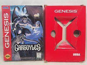 Gargoyles (SEGA Genesis) Authentic CARDBOARD BOX ONLY!