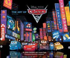 The Art of Cars 2 by Ben Queen and Karen Paik (2011, Hardcover)