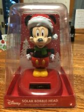 Solar Powered Dancing Toy New - Large Mickey Mouse With Santa Hat