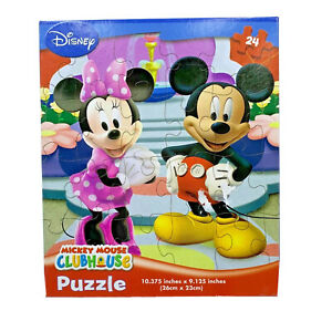 Disney Mickey Mouse Clubhouse 24 piece puzzle new sealed in box damage to box