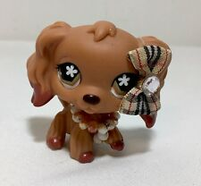 Littlest Pet Shop #716 Chocolate Dipped Ears Cocker Spaniel  Dog