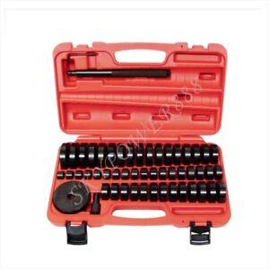 52 Pcs 18-65mm Custom Bushing Bearing Seal Driver Push Press Disc Tools Set