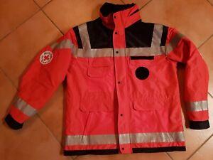DRK Rettungsdienstjacke Notarzt Rettungsdienst 54/56 H+DG Profi Trevira CS Therm