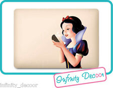 Adesivo Biancaneve per MacBook 12 - Stickers Snow White MacBook 12