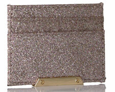 Aldo Womens Rivalta Credit Card ID Holder Sleeve Pink Sparkle Glitter 4d81feb1e2530