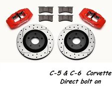 1997-2013 C-5 & C-6 Corvette SLC56 Front Replacement Caliper &Rotor Kit Wilwood-