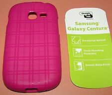 Straight Talk Slip on case, Samsung Galaxy Centura/Discover, Rose Colored, NEW