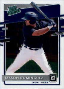 2020 Donruss Optic Rated Prospects #11 JASSON DOMINGUEZ  New York Yankees