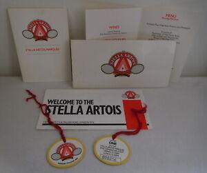 Stella Artois Marquee & Balcony Wimbledon Championships Admission Pass & Menu