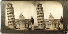Keystone Stereoview The Leaning Tower of Pisa, ITALY from the 1930's T600 Set #A